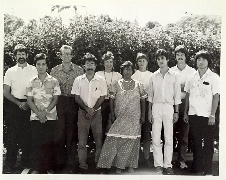 old photo of founding members